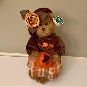 "Bearington Bears Autumn Harvester 15"" Plush Bear"